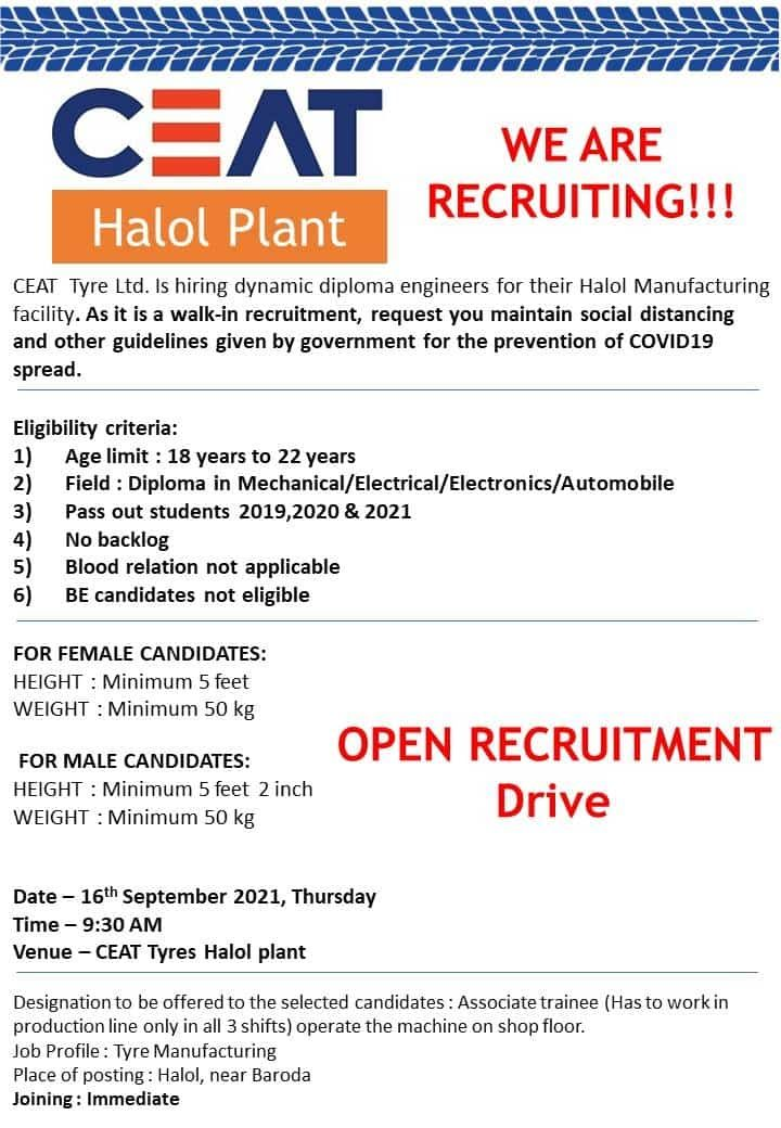 CEAT Tyre Limited - Open Interview